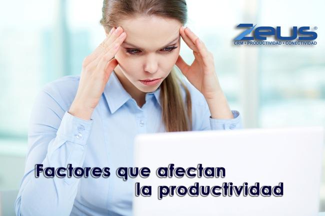 Factores que afectan la productividad de los empleados